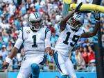 Carolina Panthers win big in home opener against 49ers (PHOTOS)