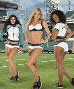 Eagles unveil new cheerleader uniforms