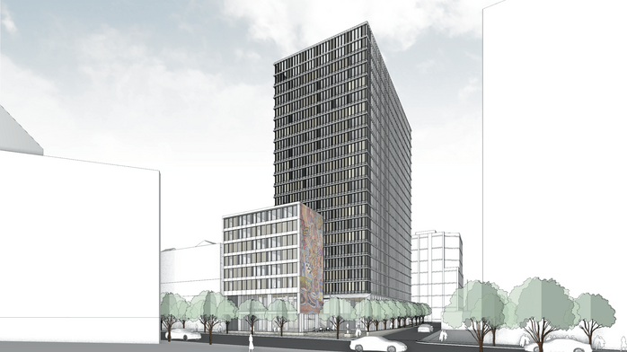 Plans for 21-story SoMa hotel shrink by nearly 200 rooms