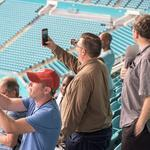 AT&T enables 6.1 million game day selfies with new antenna at Hard Rock Stadium