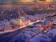 A planned World Trade Center Denver campus is expected to open in 2019 in the River North neighborhood at 38th Avenue and Blake Street. The campus will be on the rail line from Union Station to Denver International Airport.