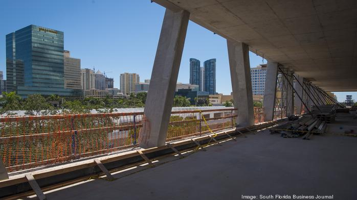 Brightline tops off Fort Lauderdale train station