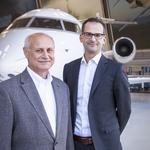 Bombardier shuffles business jet positions, changes structure