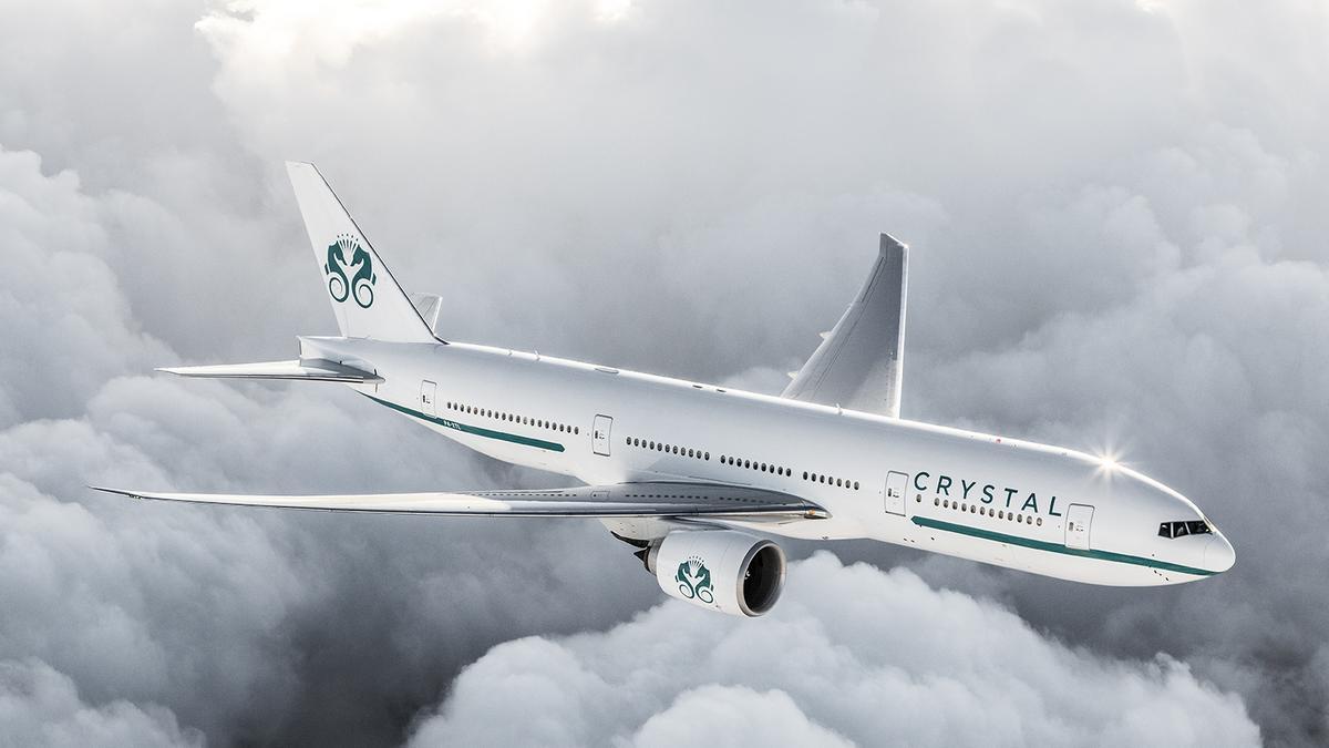 Crystal Skye Boeing 777