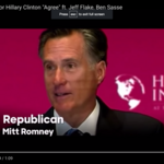 Jeff Flake, John McCain, <strong>Mitt</strong> <strong>Romney</strong> featured in Clinton's anti-Trump ad blitz
