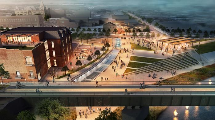 Dayton-area riverfront redevelopment project secures more funding, properties