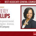 HBJ Best Corporate Counsel 2016: Best Associate General Counsel (large)