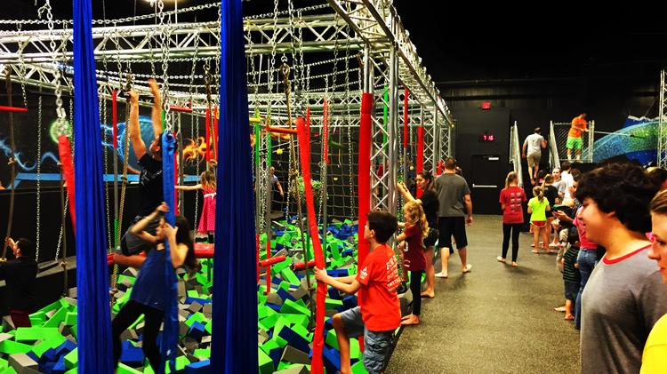 Test Your American Ninja Warrior Skills At This Ballwin