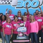 Charlotte Motor Speedway paints the pit pink (PHOTOS)