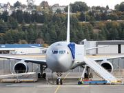 A U.S. Air Force KC-46 aerial refueling tanker, made by Boeing, jet sits in parked at Boeing Field in Seattle as it undergoes tests. The one bright spot on the global aerospace sector is defense spending, where margins are recovering very nicely, a new report by Deloitte says.