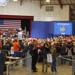 Trump draws big crowd to Waukesha County Expo Center