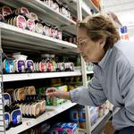 Food prices continue to fall, but not everyone can stomach them