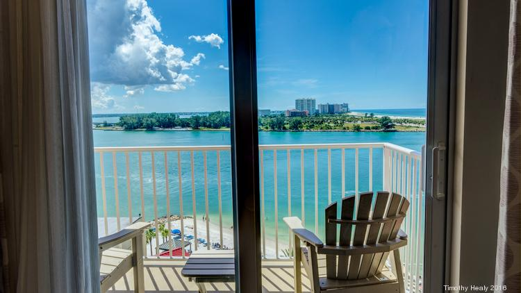 Room With A View At Hampton Inn Suites Clearwater Beach