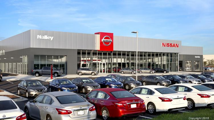 Houston Nissan Dealerships >> Automotive Minute: New Nissan dealership design makes world debut in Atlanta - Atlanta Business ...