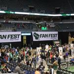 Game on - Thousands pack Milwaukee Bucks' Fan Fest: Slideshow