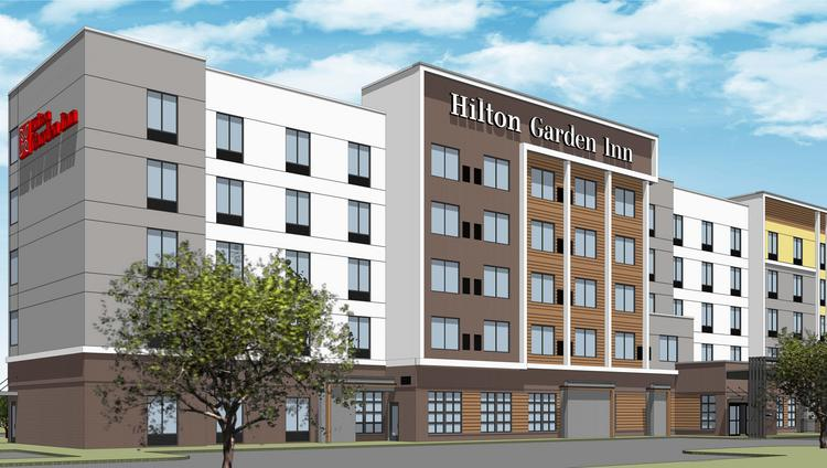 A 150 Room Hilton Garden Inn Is Slated To Open Next Month Next To Mall