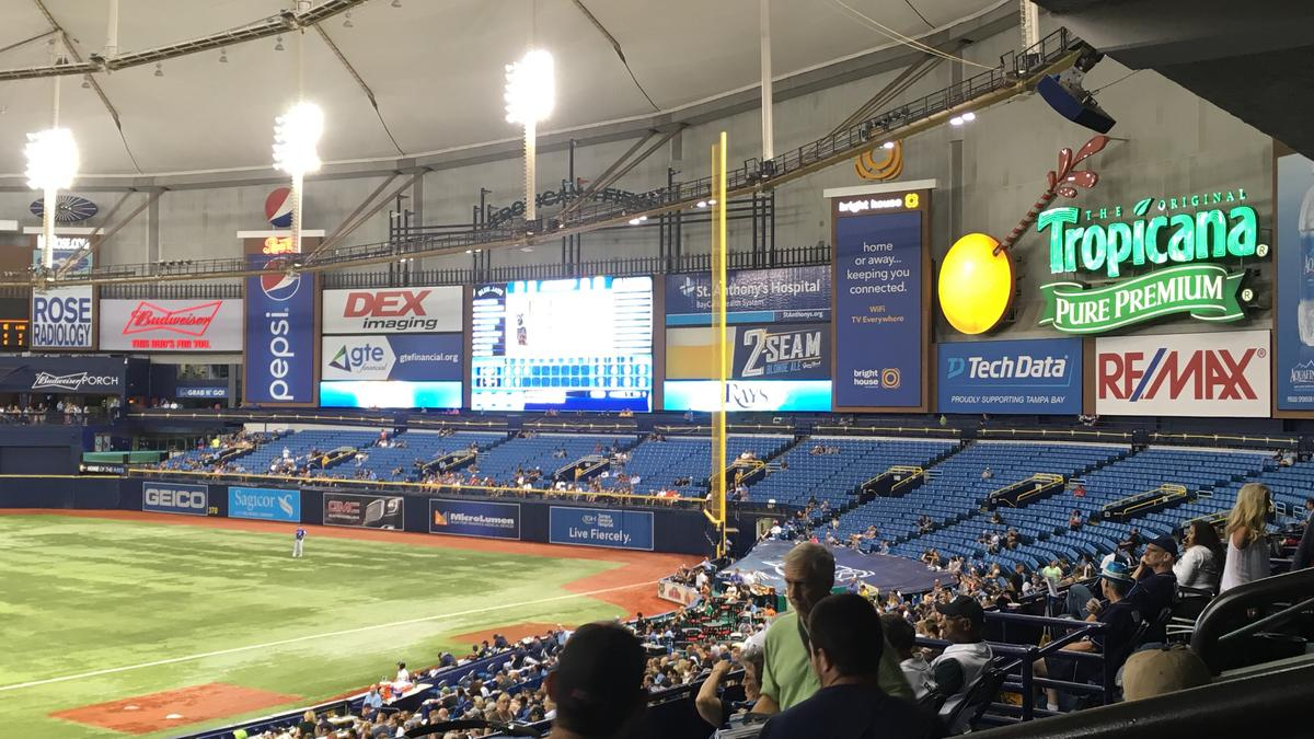 Seating in a new Tampa Bay Rays stadium could be ...