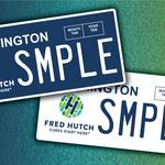 Fred Hutch lobbies for license plate to raise cash for cancer research