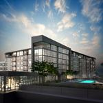 Surprise! The Tyndall at Robertson Hill breaks ground; downtown Austin views atop a fire-lit grotto