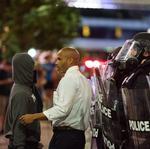 Public defender Toussaint Romain urges Charlotte business leadership to bridge racial divide