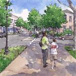 Cities build walkability with downtown squares