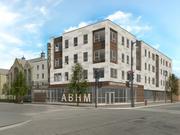 A corner shot of the Griot building Maures Development will build in the Bronzeville neighborhood