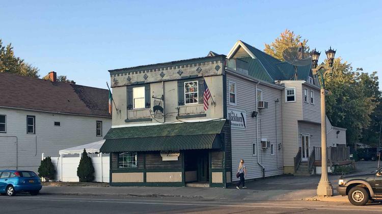 The Blackthorn Restaurant Pub On Seneca