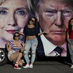 32 days: How the Trump-Clinton horse race looks before the next big debate