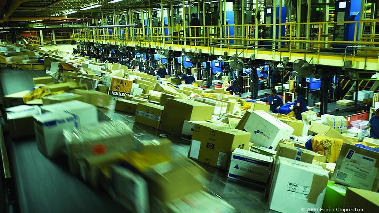 Sorting packages in Memphis hub