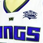 Blue Diamond lands on Kings' jersey, apron