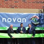 Novan shares up on third-party financing news