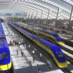 What high-speed rail reported to the Legislature on its budget, schedule