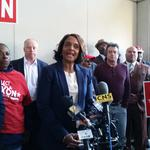 'I have never been the status quo,' <strong>Dixon</strong> says, filing as a write-in candidate