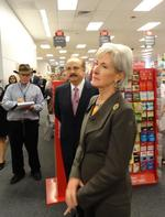 HHS Secretary <strong>Kathleen</strong> <strong>Sebelius</strong> on the economic impact of expanded coverage (Video)