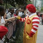 Creepy clown sightings send Ronald McDonald into hiding