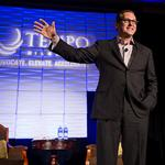 Author talks importance of heart-led leadership at Tempo event: Slideshow