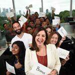 Bonus Time: Survey finds businesses do better to tie bonuses to team performance