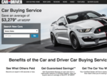 TrueCar partners with Car and Driver on new car buying service