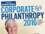 The Valley's most generous donors honored at our inaugural Corporate Philanthropy event