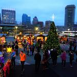 Christmas Village returns to Inner Harbor, this year with <strong>Santa</strong> <strong>Claus</strong>