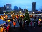 Christmas Village returns to Inner Harbor, this year with Santa Claus