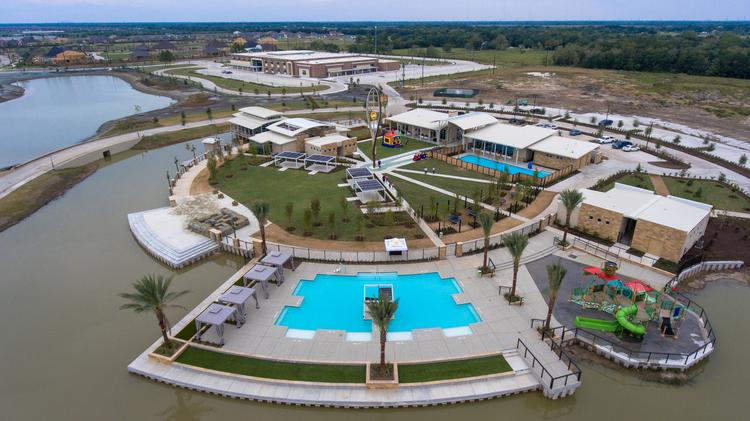 Rise Communities LLC has completed the amenity village for Meridiana, a master-planned community south of Houston.