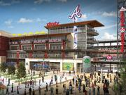 The Atlanta Braves and Terrapin Beer Co. partnered to bring a taproom and microbrewery to the The Battery Atlanta, adjacent to SunTrust Park, the soon-to-be new home of the Braves.