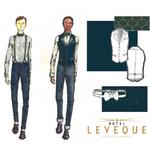 PHOTOS: Hotel LeVeque partners with Columbus fashion designer for staff uniforms
