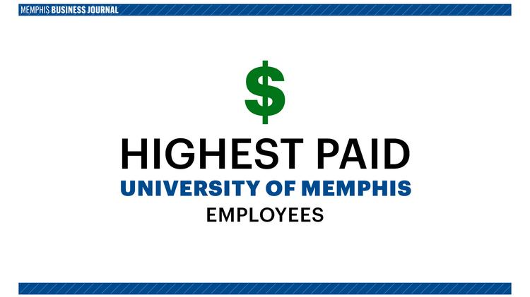 University of Memphis payroll for 2016 and salaries for employees