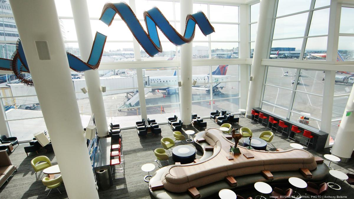 Delta S Seattle Sky Club Named North America S Leading
