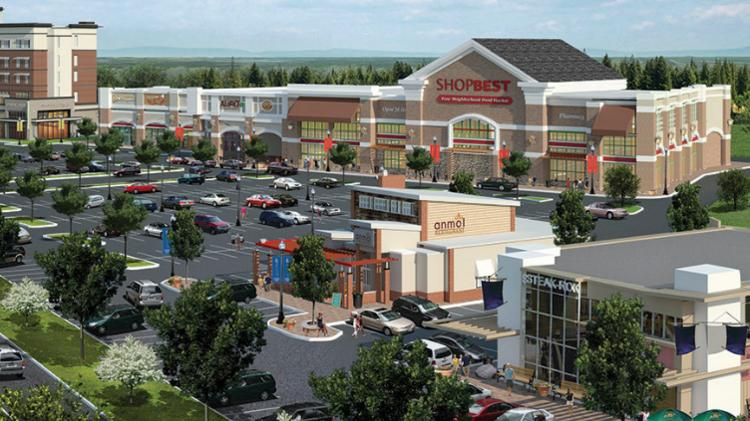 Bonaventure Realty Group LLC has signed a letter of intent to develop a 250-unit apartment project at Westphalia Town Center.