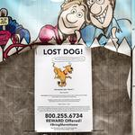 Off the Beat: Comic canine goes missing