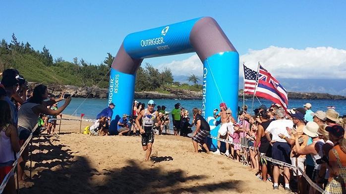 Triathlon championship this weekend on Maui