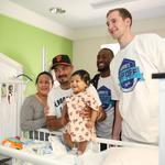 CBJ Morning Buzz: BofA's latest tech; New SouthPark stores; Krispy Kreme gains star power; Hornets visit kids' hospital (PHOTOS)